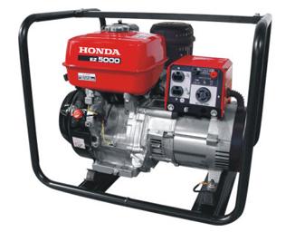 Generadores electricos honda ez5000 a gasolina generadores for Generador electrico honda precio